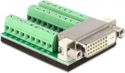 Adapter AV Delock Adapter DVI do Terminal Block 27pin (65169)