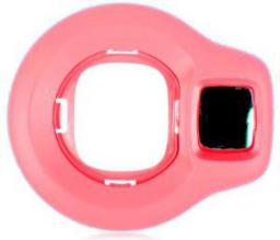 Fujifilm Nakładka na obiektyw z lustrem do Instax Mini 8, Malinowy (70100127829)