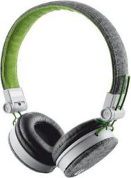 Słuchawki Trust UrbanRevolt Fyber Headphone szaro-zielone (20080)