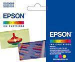 Epson T052040 Kolor (Zastąpił S020089, S020191)
