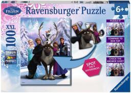 Ravensburger 100 EL. Frozen rożnice (105571)
