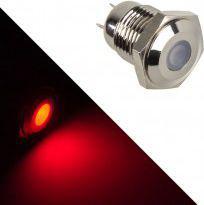 Lamptron Stainless Steel Vandal Resistant Illuminated czewona kropka (LAMP-SW2002-S)