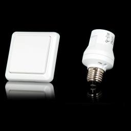 Trust Zestaw bezprzewodowy przycisk ścienny i łącznik oprawkowy do bezprzewodowego sterowania oświetleniem (AWST-8800 & AFR-060)