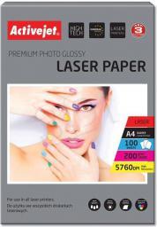 Activejet papier fotograficzny błyszczący A4 100 szt 200g (AP4-200G100L)