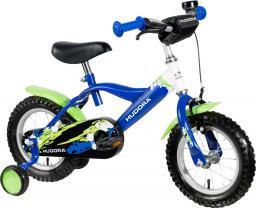 """Hudora Rower dziecięcy 12"""" niebiesko-zielony (10540)"""