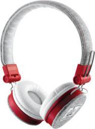 Słuchawki Trust UrbanRevolt Fybe grey/red (20073)
