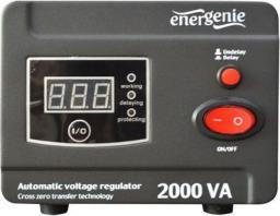 Energenie Stabilizator napięcia AVR LED 220V 2000VA 2 x Schuko (EG-AVR-D2000-01)
