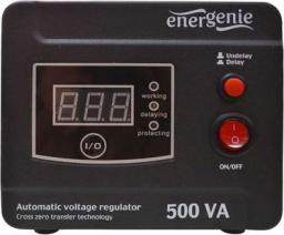 Energenie Stabilizator napięcia AVR LED 220V 500VA 1 x Schuko (EG-AVR-D500-01)