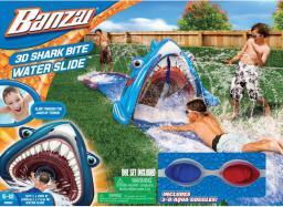Banzai Ślizgawka wodna z rekinem 3D + okulary - 69987