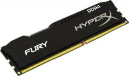 Pamięć HyperX Fury, DDR4, 16 GB,2400MHz, CL15 (HX424C15FB/16)