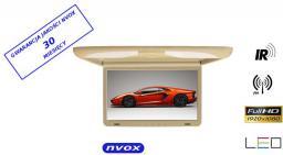 Nvox Monitor Podsufitowy LED 17'' (RF1738IR) Beżowy