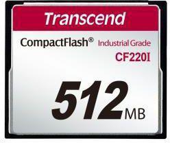 Karta pamięci Transcend CF220I 512MB (TS512MCF220I)