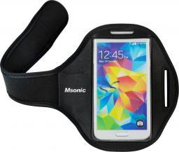 "Vakoss Msonic Sportowe etui na telefon 5"" na ramię czarne (MT3782K)"