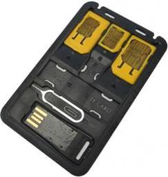 Techly Zestaw, adapterów do kart SIM (021680)