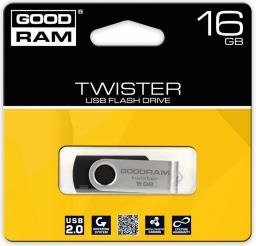 Pendrive GoodRam Twister 16GB (UTS2-0160K0R11)