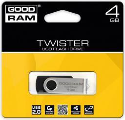 Pendrive GoodRam Twister 4GB (UTS2-0040K0R11)