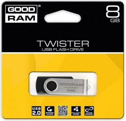 Pendrive GoodRam Twister 8GB (UTS2-0080K0R11)
