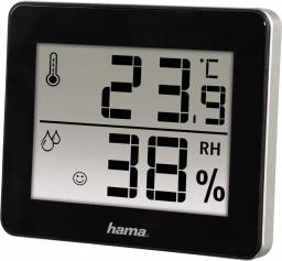 Stacja pogody Hama Termometr/Higrometr TH-130 czarny (001362610000)