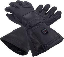 Glovii Ogrzewane, skórzane rękawiczki narciarskie, rozmiary: L (GS5L)