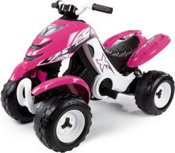 Smoby quad elektryczny X-Power Różowy SM-33049