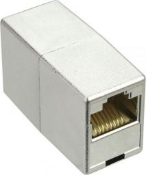 InLine Connector 2x RJ45, Cat.5e,  żeński ekranowany direct (69990L)
