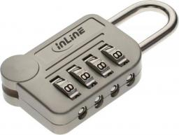 Linka zabezpieczająca InLine Security Lock z zamkiem szyfrowym ze wzmocnionej stali (55721)