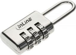 Linka zabezpieczająca InLine Blokada bezpieczeństwa z zamkiem szyfrowym (55718)