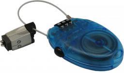 Linka zabezpieczająca InLine Notebook Security Combination Lock ze zwijanym kablem i adapterem (55704)