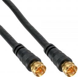 Kabel InLine Antenowy, 0.5, Czarny (69350P)