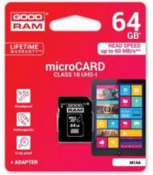 Karta MicroSD GoodRam 64GB (M1AA-0640R11)