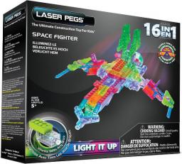 Laser Pegs 16 in 1 Space Fighter (G9030B)