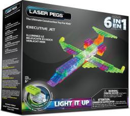 Laser Pegs Samolot 6 w 1 Samolot (ZD140B)