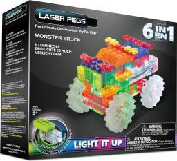 LASER PEGS Pojazd 6 w 1 Monster Truck (ZD110B)