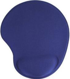 Podkładka InLine gel wrist rest  niebieska (55453B)
