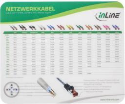 "Podkładka InLine ""Cat.6 Patch Cable"" Laser Ultra-Thin 220x180x0.4mm (55456I)"