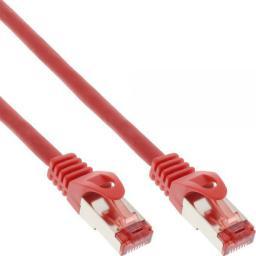 InLine Patchcord S/FTP, PiMF, Cat.6, 250MHz, PVC, czerwony, 2m (76102R)