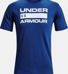Under Armour Koszulka męska Team Issue Wordmark SS Tee Niebieska r. L (1329582-432)