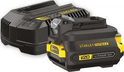 Stanley Zestaw ładowarka + akumulator + adapter (SFMCB121D1)