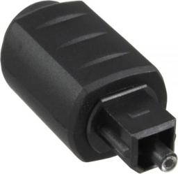 Adapter AV InLine Optical Audio Coupling 3.5mm żeński - Toslink męski (89907)