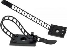 Organizer InLine Regulowalny zacisk na kable 85mm, czarny, 10 sztuk (59969D)