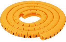 Organizer InLine Znacznik do kabli 5.2-10 mm, nr. 0-9, 1000 sztuk (59961G)