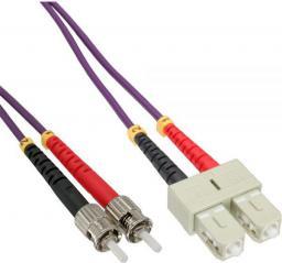 InLine Patchcord światłowodowy SC/ST, 50/125µm,   OM4 20m (82520P)