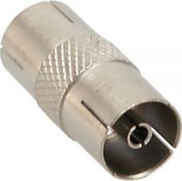 InLine Koncentryczny IEC męski - żeński metalizowany (69915L)