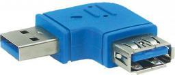 Adapter USB InLine USB - USB Niebieski (35300M)