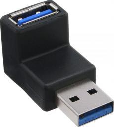 Adapter USB InLine USB A - USB A (wtyk-gniazdo) Czarny (35300R)