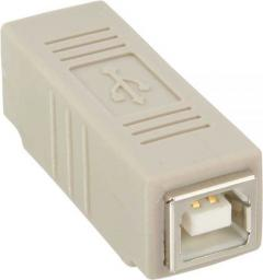 Adapter USB InLine USB B - USB B Biały (33400)