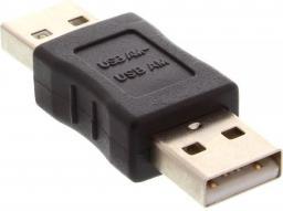 Adapter USB InLine USB - USB Czarny (33441)