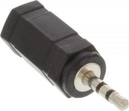 Adapter AV InLine 2.5mm na 3.5mm Jack Czarny (99308B)