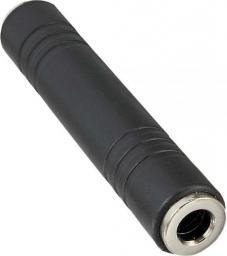 Adapter AV InLine Audio 6.3mm jack żeński - żeński Stereo (99307)