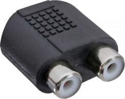 Adapter AV InLine Audio 3.5mm jack żeński Stereo - 2x RCA żeński (99346)